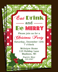 party invitations holiday party invite wording   holiday party invite wording eat and drink wedding celebrate christmas celebrate floral pattern design background polka