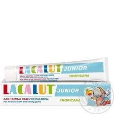 <b>Lacalut</b> Kids Toothpaste <b>Tropicana</b> 75ml buy from 76.58 uah ...