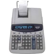 Victor, VCT15706, 15706 Heavy-Duty <b>Printing</b> Calculator, 1 Each ...