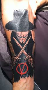 v for vendetta tattoo anonymous v for vendetta v for vendetta tattoo