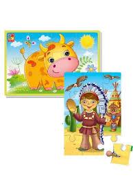 <b>Мягкие</b> детские <b>пазлы Vladi Toys</b> 9149836 в интернет-магазине ...