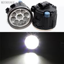 <b>MZORANGE</b> 9W <b>6000K</b> White led fog lights For NISSAN TIIDA ...