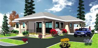 Ghana House Plans   Abrantee House PlanAbrantee House Plan