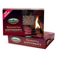 <b>Брикеты для розжига Пикничок</b> 64 кубика — купить в интернет ...