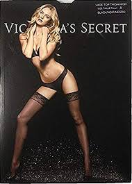 <b>Victorias Secret</b> Lace Top Thigh High Stockings Hosiery Size A <b>88</b> ...