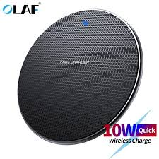 <b>Olaf</b> 18W Qi <b>Wireless Charger</b> Receiver for iPhone Xs Max X 8 Plus ...