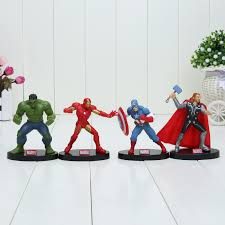 <b>6pcs</b>/<b>set</b> 8 10cm Super Hero The <b>Avengers</b> action figure Toys ...