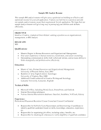 human resource resume example  seangarrette co   human resource resume format great resumes resources