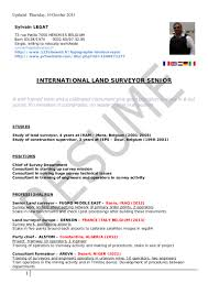 land surveyor resume legat