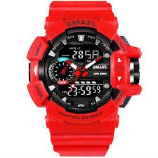 <b>SMAEL 1436</b> Shockproof Sport Watch For <b>Men</b>, 50M Waterproof ...
