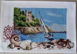 <b>Морская</b> прогулка. Вышивка крестиком. <b>Картина</b> – заказать на ...