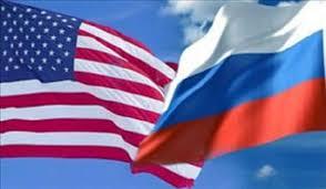 Afbeeldingsresultaat voor پرچم آمریکا و روسیه