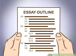 easy ways to write an expository essay   wikihowimage titled write an expository essay step