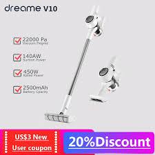 2020 version Xiaomi Vacuum Cleaner <b>Dreame V10 Boreas</b> ...