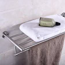 bath stainless steel bathroom towel wallmounted towel rack brushed stainless steel bathroom bath towel hol