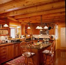 cabin interior design rustic kitchen