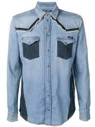 Мужские <b>джинсовые</b> рубашки купить в интернет-магазине ...