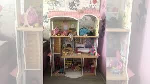 """<b>Трехэтажный дом kidkraft</b> из дерева для Барби """"Кайл купить в ..."""