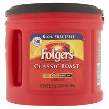 coffee com folgers classic roast ground coffee medium 30 5 oz
