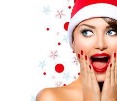 Image result for holiday skin care model
