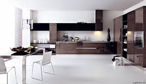 kitchen amazing modern two tone cabinets black and wood colors at minimalist style with small white black white modern kitchen tables