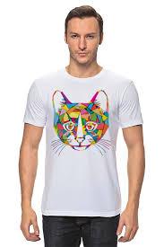 Футболка <b>классическая Printio Кот</b> (<b>Cat</b>) #1519184