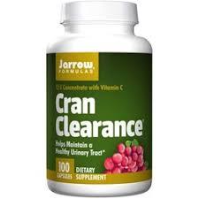 Jarrow Formulas <b>Cran Clearance</b> - <b>100</b> Capsules - eVitamins.com