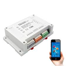 <b>Sonoff</b> 4CH Pro R2 Switch Upgraded Version <b>4</b> Channel <b>WiFi</b> Smart ...