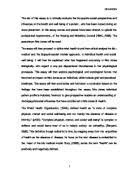 reflection essay  the nursing skill i will be discussing is bed    related university degree nursing essays