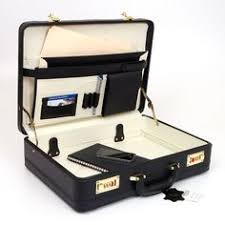 <b>Cowhide</b> Leather Expanding Attache Case (LBS035) | <b>briefcases</b> in ...