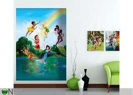 Флизелиновые <b>фотообои Disney fairies</b> in the rainbow 180x202 cm
