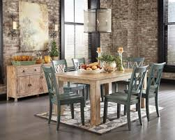 dining room table ashley furniture home: mestler driftwood rectangular dining room table from ashley d