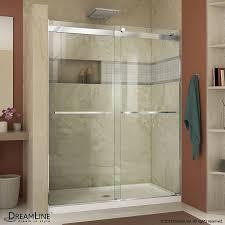 glass shower door dimensions x