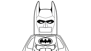 Small Picture Lego Batman Minifigures Coloring Coloring Pages