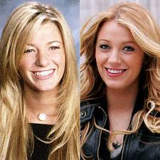 Blake Lively, Gossip Girl, high school. Seth Poppel/Yearbook Library; James Devaney/WireImage - 061708_blake_400x400