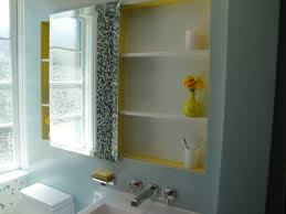 Rustic Wood Medicine Cabinet Bathroom Outstanding Bathroom Mirror With Mirrored Medicine