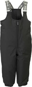Брюки утепленные детские <b>Huppa Sonny</b>, цвет: черный ...