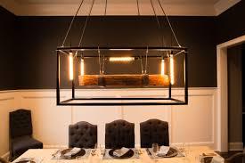 wood beam large chandelier framed light with edison bulbs chandelier barn board