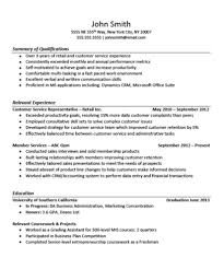 Sample Resume Summary Qualifications  Military Service Resume     General Manager