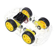 <b>Smart Car Chassis</b> Transparent 4Wd Racing Car - Kg192: Amazon ...