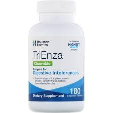 Houston Enzymes <b>TriEnza</b> жевательные 180 жевательных таблеток