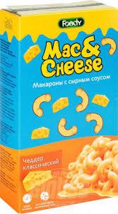 <b>Макароны</b> с сырным соусом <b>Foody Mac&Cheese</b> Чеддер ...