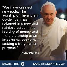 the Pope is a progressive,