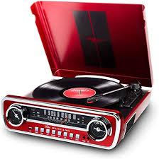 <b>ION Audio Mustang</b> LP - 4-in-1 Vinyl Record Player: Amazon.co.uk ...