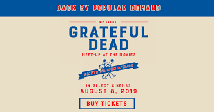9th Annual <b>Grateful Dead</b> Meet-Up at The Movies: Get Tickets ...