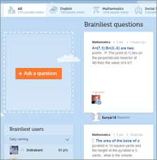 Brainly  Help Each Other With Homework    The  allmyfaves Blog     The  allmyfaves Blog   All My Faves Brainly is an online community that connects students that need help solving homework problems in subjects