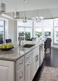 superb abbyson living in kitchen transitional with santa cecilia travertine backsplash next to dark floor light cabinet alongside breakfast nook light and breakfast nook lighting