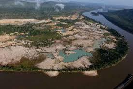 Resultado de imagen para mineria ilegal en el estado bolivar