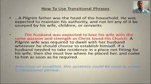 transitions in writing part ii transitional phrases transitions in writing part ii transitional phrases