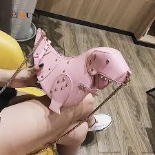 DUSUN Rivet <b>Personality</b> Dinosaur Design Fashion Leather ...